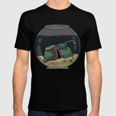 The Snail Conquers The Fett Mens Fitted Tee SMALL Black