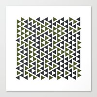 #458 Trap – Geometry Daily Canvas Print