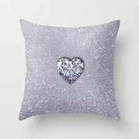 Diamond Love Throw Pillow