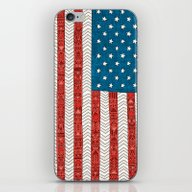 iPhone & iPod Skin featuring USA by Bianca Green