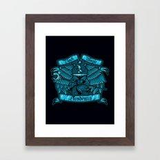 Black Magic Academy Framed Art Print