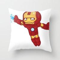 IRON MAN ROBOTIC Throw Pillow