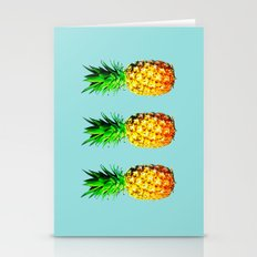 Fresh Pineapples  Stationery Cards