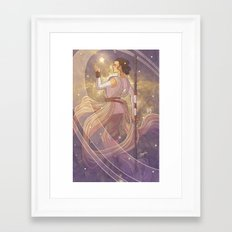 Lady of Light III Framed Art Print