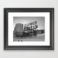 Public Market -- Seattle Framed Art Print