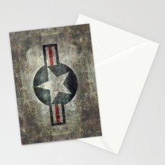Stylized Tribute of the US Air force Roundel insignia #1 Stationery Cards