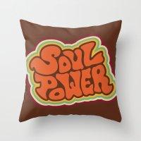 Soul Power Throw Pillow