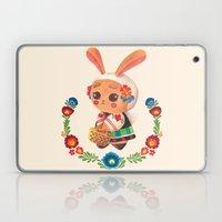 The Cute Bunny in Polish Costume Laptop & iPad Skin
