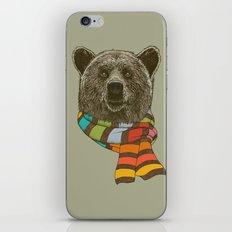 Winter Bear iPhone & iPod Skin