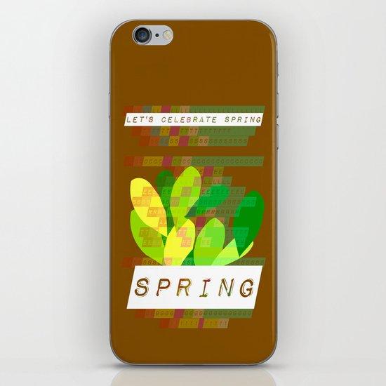 Celebrate Spring iPhone & iPod Skin