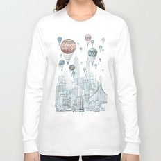 Voyages Over New York Long Sleeve T-shirt