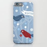 iPhone & iPod Case featuring 4 Seasons - Winter by ellis