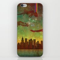 City Rising (Dreamers #2) iPhone & iPod Skin