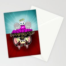 Angel and Demon RonkyTonk Stationery Cards