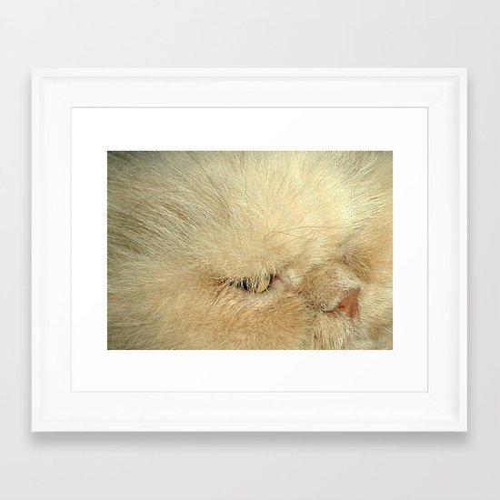Not So Evil Eye Framed Art Print