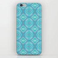 Ocean Melt Kaleido Pattern iPhone & iPod Skin