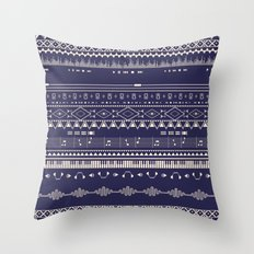 Native Groovy Throw Pillow