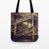 A Hogwarts Staircase Tote Bag