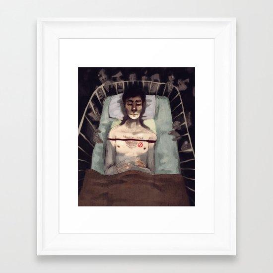 Studied and Observed  Framed Art Print