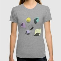 Play  Womens Fitted Tee Tri-Grey SMALL