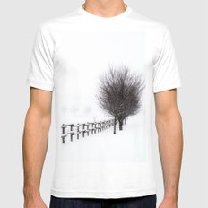 The Magic of Snow Mens Fitted Tee White SMALL