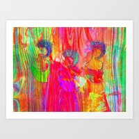 The three Graces  Art Print