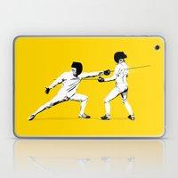 The Duel Laptop & iPad Skin