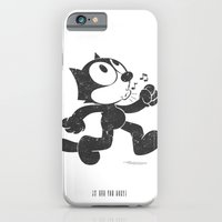 iPhone & iPod Case featuring Felix The Cat by Adel