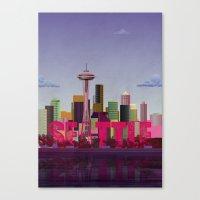 Seattle Canvas Print