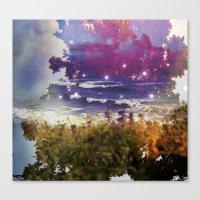 Surfing On Acid Canvas Print