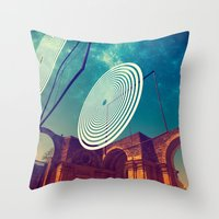 Signals Throw Pillow