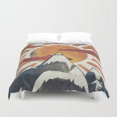 Mount Spitfire Duvet Cover