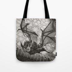 The Bat Rider  Tote Bag