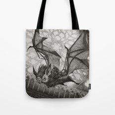 The Bat Rider  Tote Bag