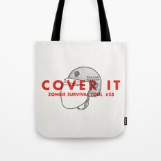 Cover it - Zombie Survival Tools Tote Bag