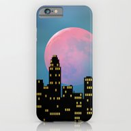 iPhone & iPod Case featuring Super Moon Over The City by Klara Acel