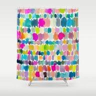 Paradise Painterly Shower Curtain