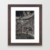 The Stone of Folly Framed Art Print