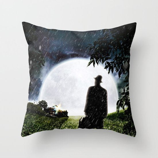 The Little Observer Throw Pillow