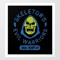 Bad Boy Club: Skeletor's… Art Print