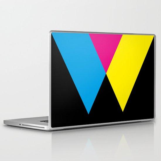 W like W Laptop & iPad Skin
