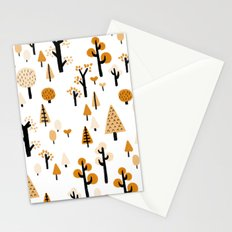 trees in the forest Stationery Cards