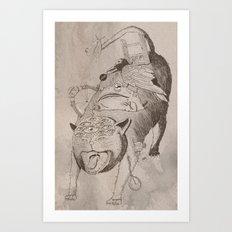 Bad Omens Art Print