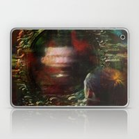 The haunted mirror Laptop & iPad Skin