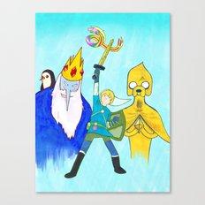 The Legend of Bubblegum: Skyward Jake Canvas Print