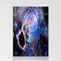 Transitory Cosmos Stationery Cards