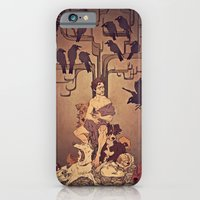 iPhone & iPod Case featuring Meditations on Murder - nbc Hannibal by tumblebuggie
