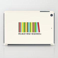 Reading is good iPad Case