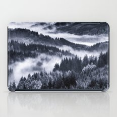Misty Forest Mountains iPad Case