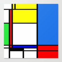 Mondrian New Canvas Print